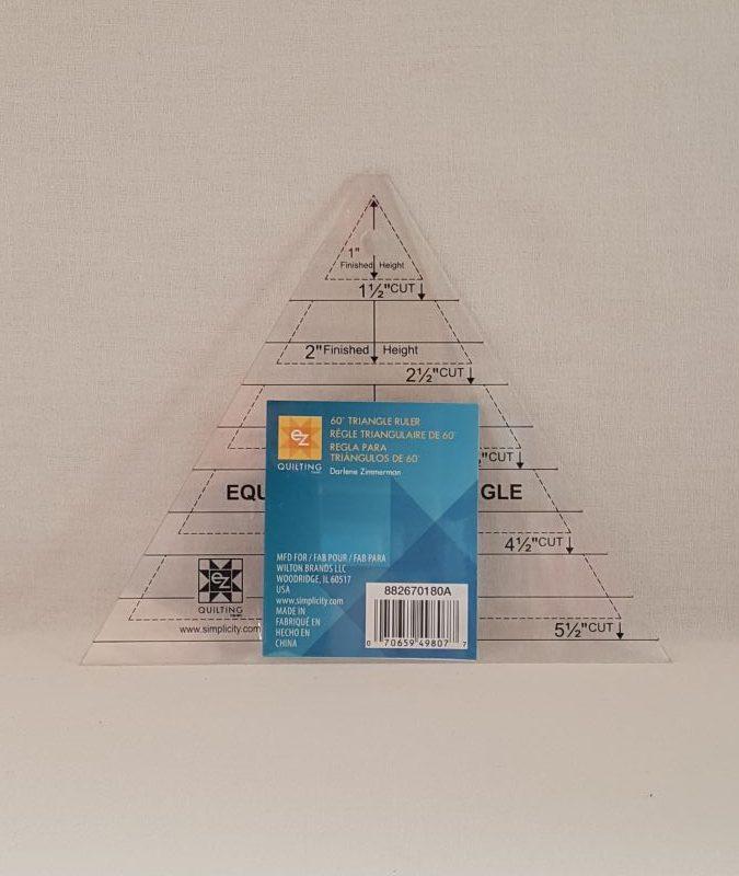 60 graders trekant quilt20161127_095856