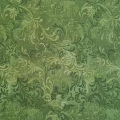 Grønne snirkler. Del af valmueserie.20161227_113422