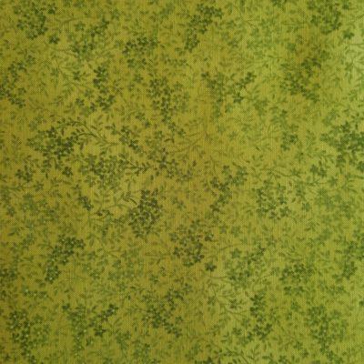 Små grønne blomster på limegrøn bund.20161227_113826