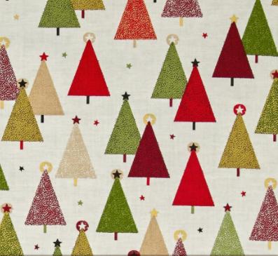 Modern Metallic Christmas Trees, D#1800