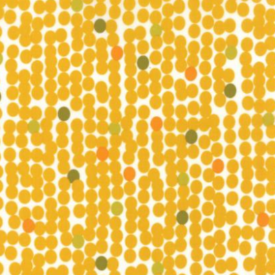 Fragile Big Dots Chalk Mustard 1635 13