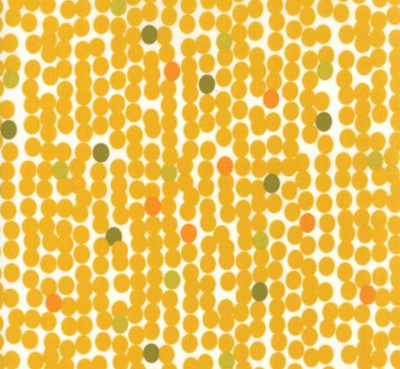 Fragile Big Dots Chalk Mustard 1635 13