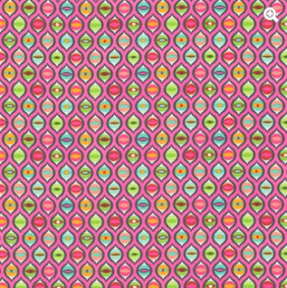Tula Pink - Tabby Road - Cat Eyes - Marmalade Skies Item # PWTP095.MARMA