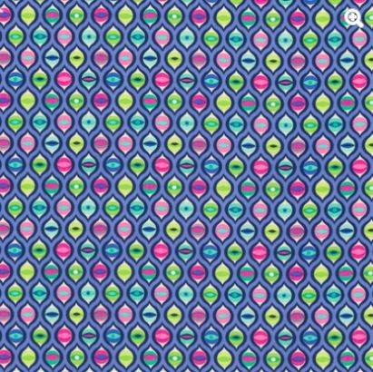Tula Pink - Tabby Road - Cat Eyes - Blue Bird Item # PWTP095.BLUEB