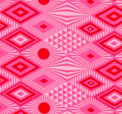 Tula Pink - Tabby Road - Lucy - Strawberry Fields Item # PWTP096.STRAW