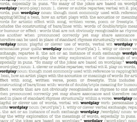 Wordplay 43141-4, Windham Fabrics