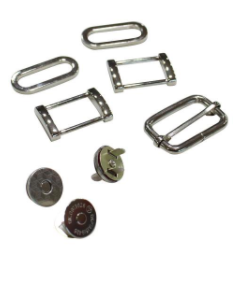 Shelby Satchel hardware kit.