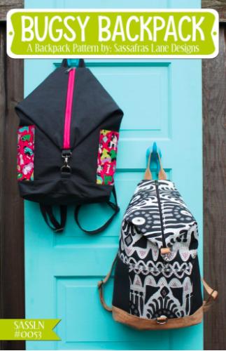 Bugsy Backpack, mønster.