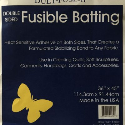Bosal Duet Fuse II, Double sided Fusible Batting, #4252