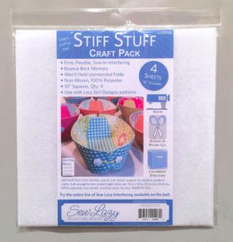 Stiff Stuff 10″ Squares ITEM #SLG107SQ