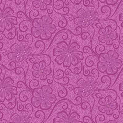 FLORAL BLENDER PLUM By AMANDA MURPHY Item #: 0404466B SKU: 4044-66