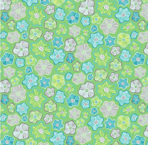 LITTLE FLOWERS GREEN Item #: 0404544B SKU: 4045-44