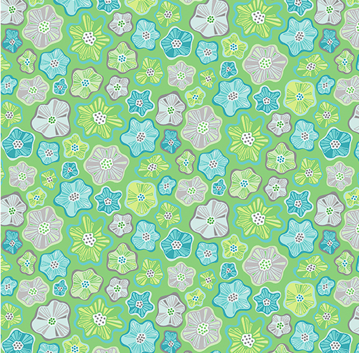 LITTLE FLOWERS GREEN Item #: 0404544B SKU: 4045-44