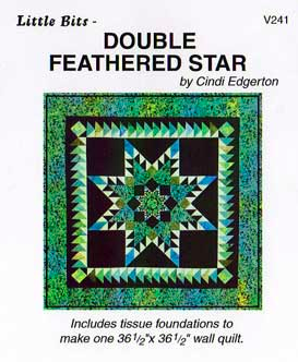 Double Feathered Star, Cindi Edgerton.