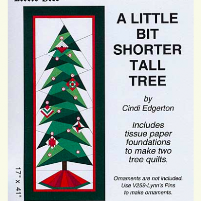 A Little Bit Shorter Tall Tree, CIndi Edgerton