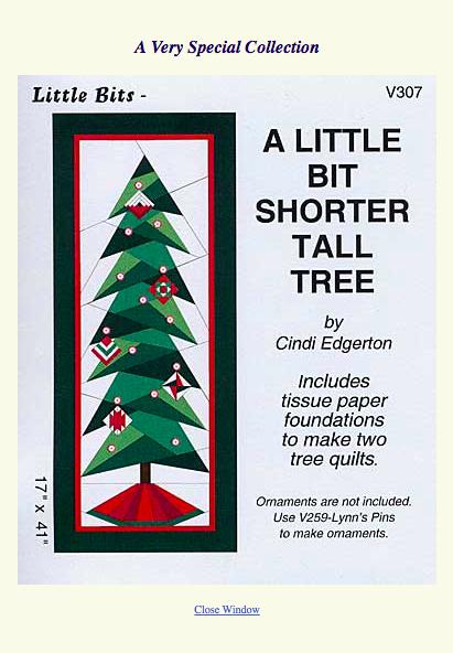 A Little Bit Shorter Tall Tree, CIndi Edgerton