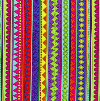 3387-002 STRIPE-MULTI, RJR Fabrics