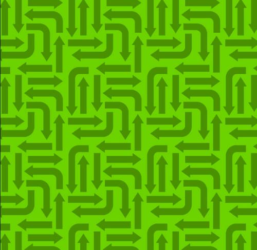 3406-002 ARROWS-GREEN, RJR Fabrics