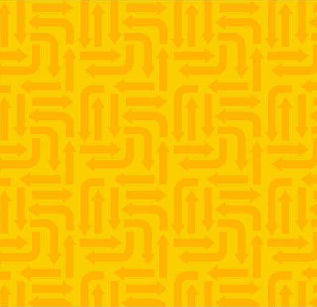 3406-004 ARROWS-YELLOW, RJR Fabrics