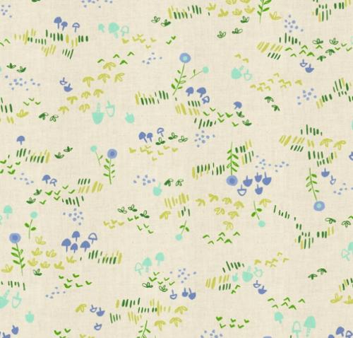 Mori no Tomodachi by Cotton and Steel Fabrics,HO106-GR3U