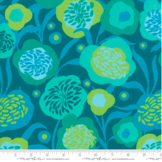 Growing Beautiful Teal 11831 11 Moda
